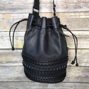Pour La Victoire Rebel Yell Leather Studded bag